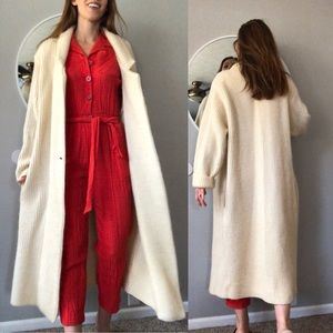 Vintage full length thick sweater